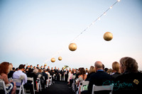 Ceremony on the Sky Deck with Lanterns