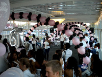 Party Deck with Balloon Ceiling