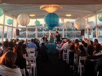 Mitzvah Ceremony on the Party Deck