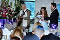 Bat Mitzvah Service in the Admiral's Dining Room