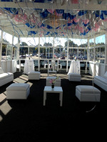 Party Deck with Balloons and Specialty Rentals