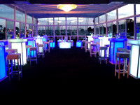 Party Deck with Specialty Furniture Rental Night